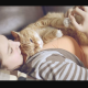 Razones por las que tu gato busca dormir encima de ti
